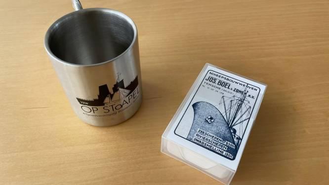 Erfgoedvereniging Op Stoapel lanceert Boelwerfgadgets