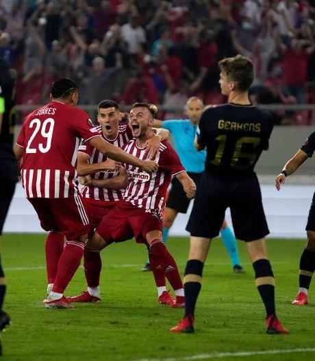 L'Antwerp s'incline en toute fin de match à l'Olympiacos