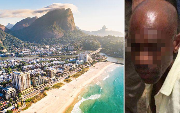 De 39-jarige Julien 'Etta' R. leefde in Rio de Janeiro samen met een model dat regelmatig in Nederland en België vertoeft.