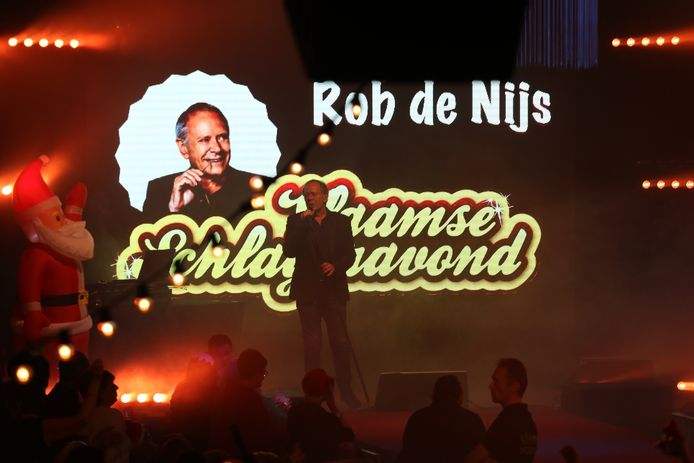 Zeventiende editie Baalse Schlagerfestival, Rob de Nijs was toen de headliner op de affiche