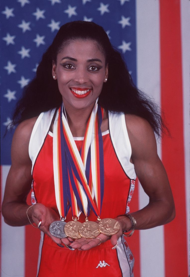 Florence Griffith Joyner Beeld UNKNOWN