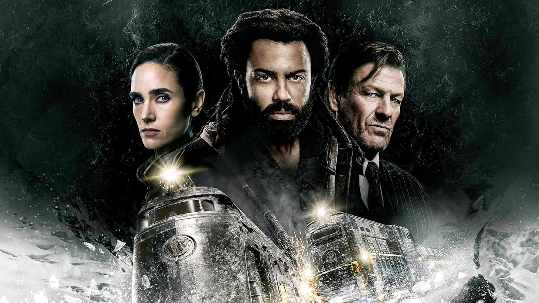 Jennifer Connelly, Daveed Diggs en Sean Bean in 'Snowpiercer' Beeld TMDB