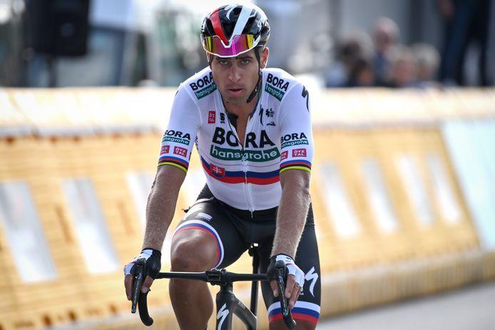 Peter Sagan peut devenir le premier quadruple champion du monde de l'histoire en cas de victoire à Louvain.