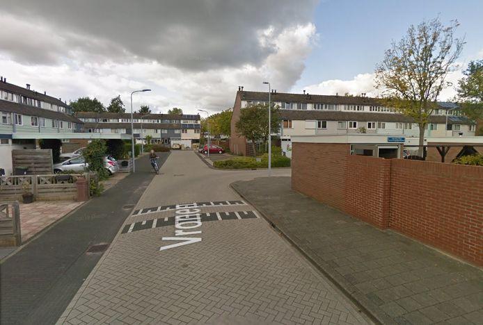 De straat Vronen in Nieuw-Vennep.