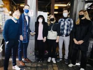 Café Den Engel is eerste Antwerpse 'zaak zonder haat'