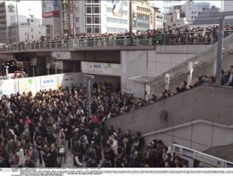 Hevige naschok in Tokio veroorzaakt verkeerschaos