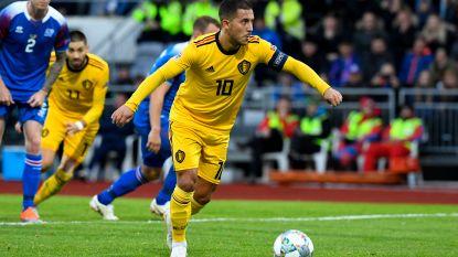 Waarom Hazard zich dankzij IJslandse goal in een historisch rijtje trapte (en nog enkele andere ronduit straffe Duivelse statistieken)