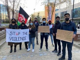 """Afghanen houden manifestatie aan Schumanplein: """"Aandacht Europese instellingen proberen te trekken"""""""