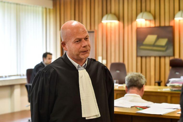 Advocaat Sven Mary. Beeld Florian Van Eenoo photonews
