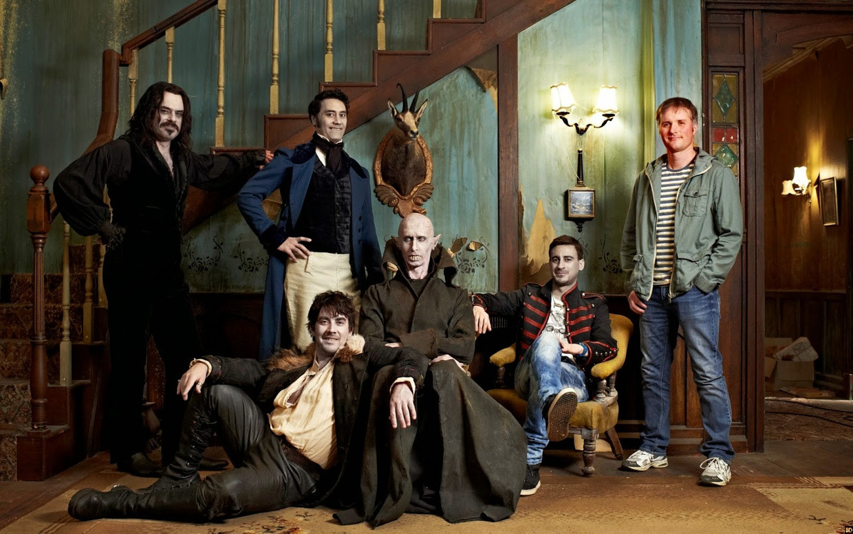 'What We Do In The Shadows' Beeld BBC2