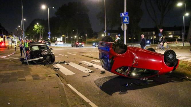 Ravage na botsing in Rotterdam-Zuid, beide bestuurders onder invloed