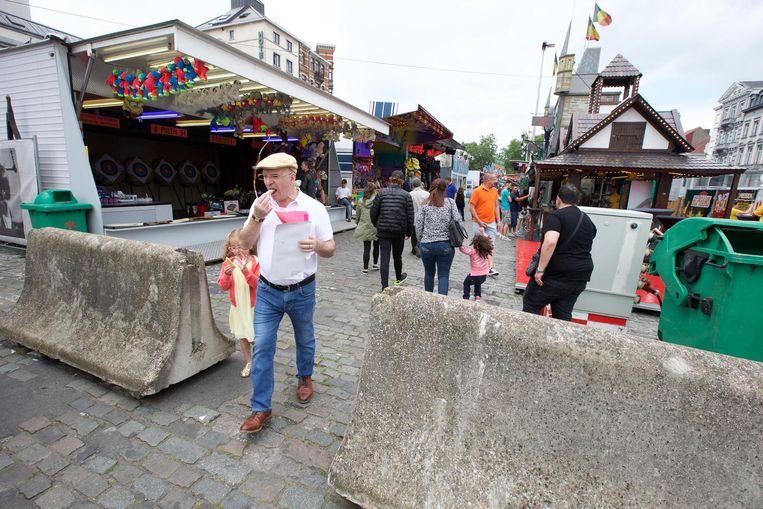 De betonblokken die er vorig jaar stonden, keren terug. De organisatie verwacht wel opnieuw meer bezoekers.