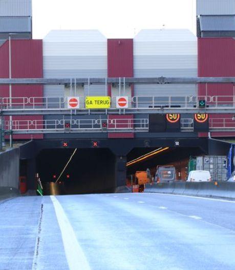 Liefkenshoektunnel richting Nederland vannacht afgesloten voor verkeer
