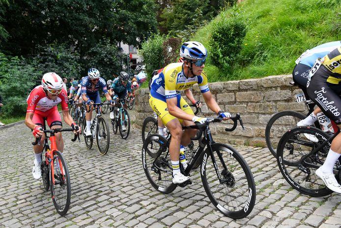 Arne Marit maakte tijdens de Brussels Cycling Classic een eerste keer kennis met de Muur.