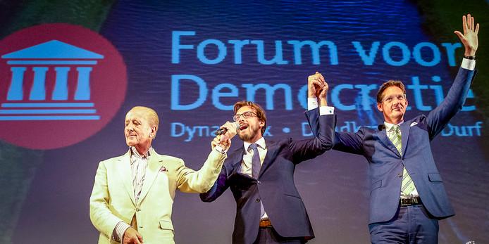 Baudet, Hiddema en Eerdmans bijeen in Rotterdam,