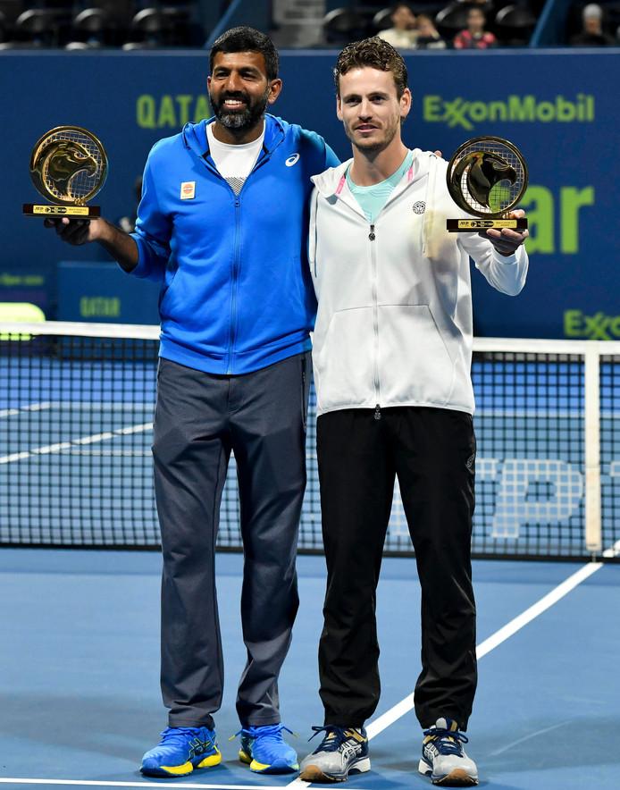 Wesley Koolhof won vorige week met Rohan Bopanna uit  India het toernooi in Doha.