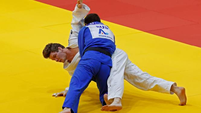 Geen eremetaal voor Matthias Casse op Grand Slam judo in Tel Aviv