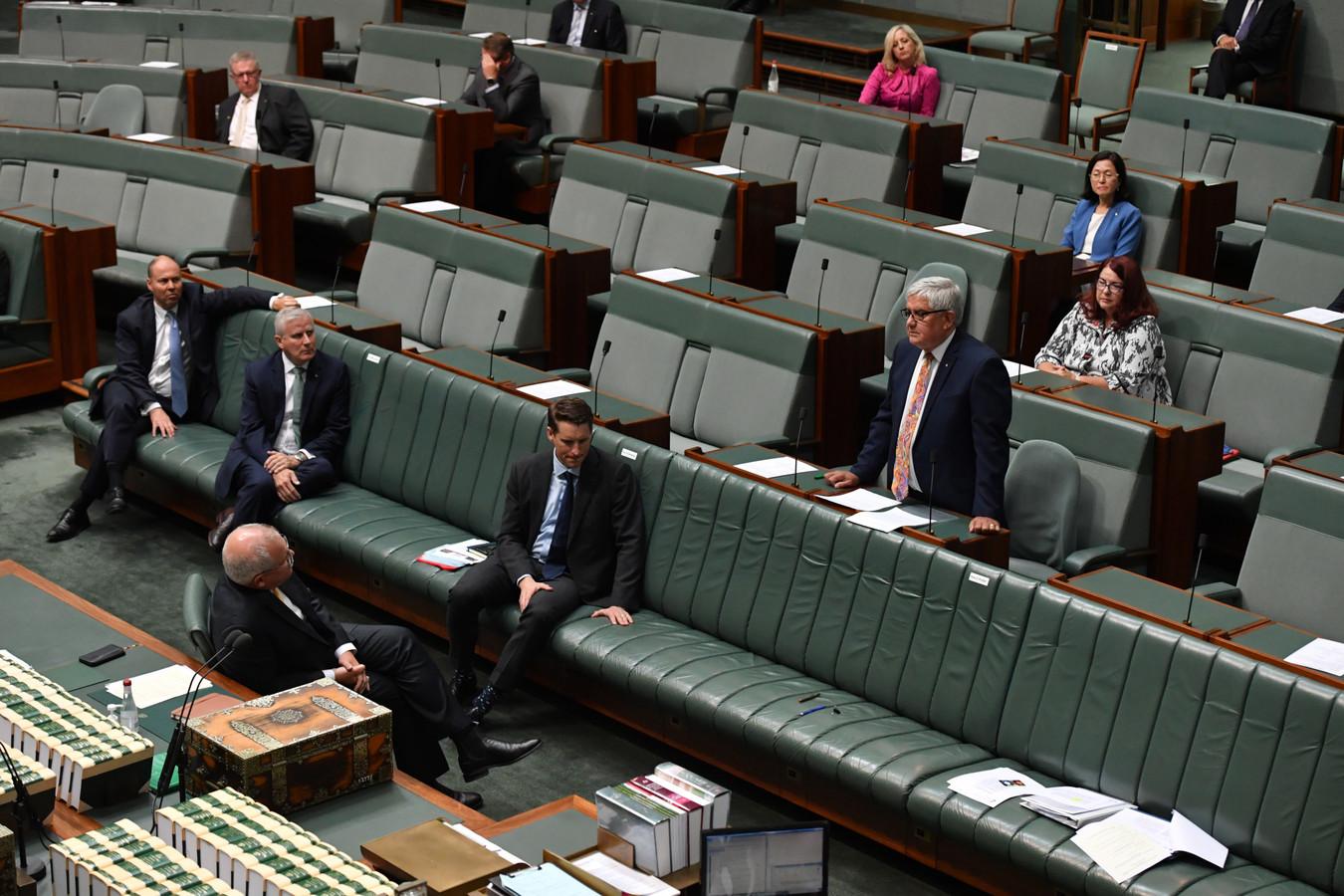 Photo d'illustration du Parlement en Australie.