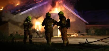 Duizenden kippen komen om bij brand in Nijkerk