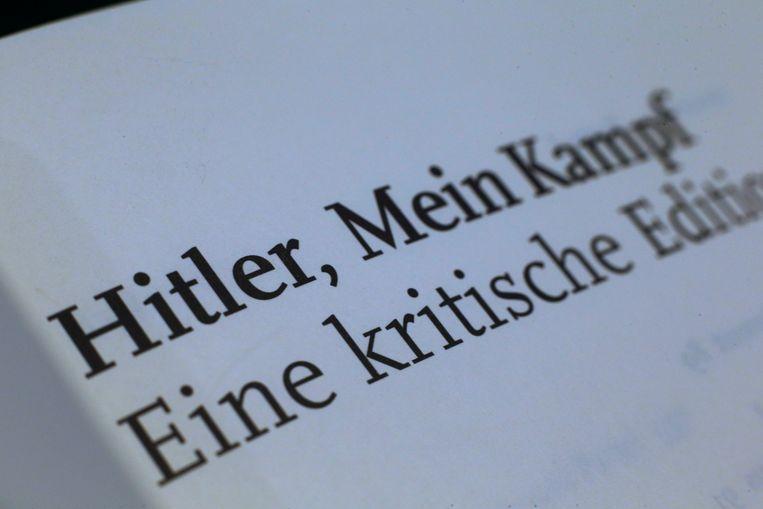 In Duitsland kwam een wetenschappelijke uitgave er pas nadat in 2016 de auteursrechten vervielen, ruim zeventig jaar na de dood van Hitler in een Berlijnse bunker. Beeld REUTERS