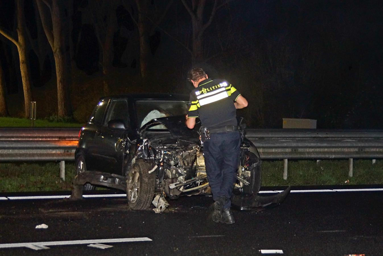 Ongeluk op A59.