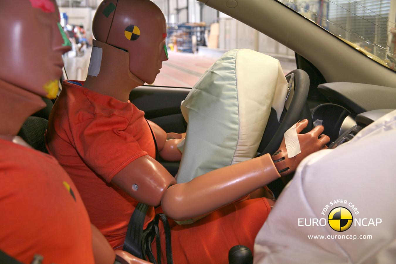 Bij een crashtest wordt gekeken hoe veilig een auto is voor de inzittenden en omgeving.