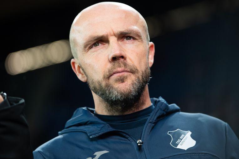 Alfred Schreuder, coach van Hoffenheim: