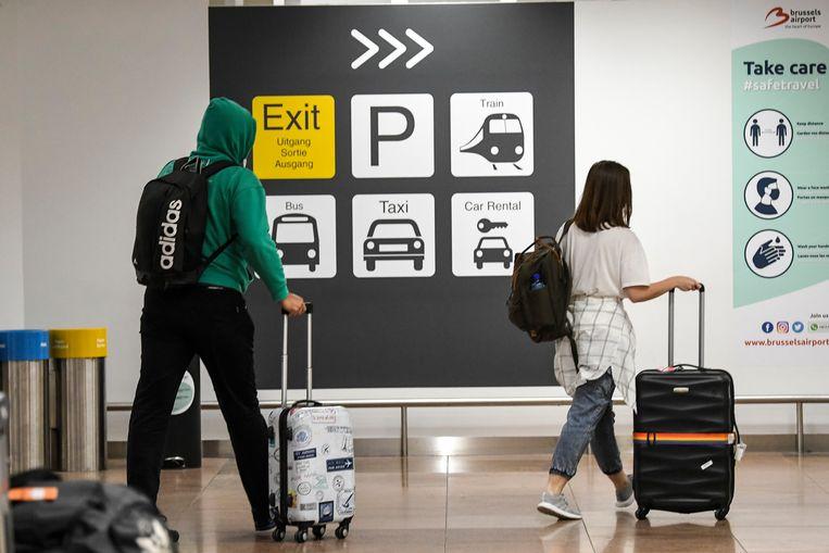 Illustratiebeeld: de luchthaven van Zaventem. Beeld Photo News