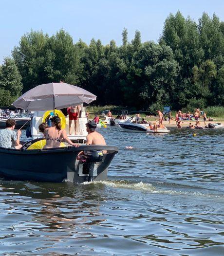 Drijfafval en ander gevaar na hoogwater: even niet zwemmen in de Biesbosch