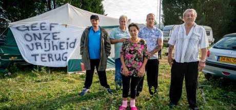 Woonwagenkamp Grote Molenstraat kan deze week blijven staan