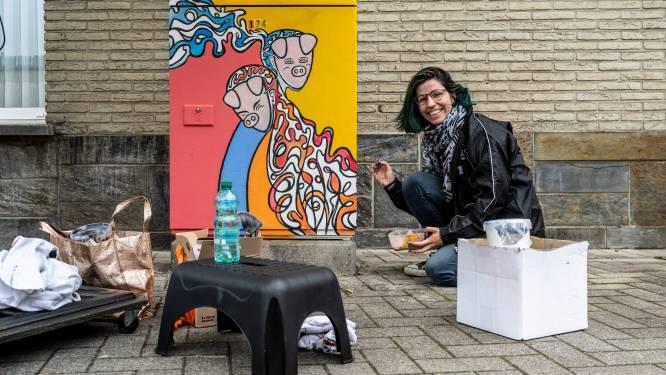 Streetartproject Viewmasters 2021 van start: kunstwerken sieren veertig nutskasten en vijf gevels