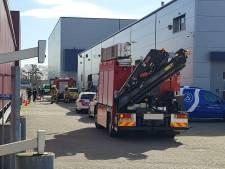 Werknemer zwaargewond doordat hij bekneld raakt in silo in Barneveld
