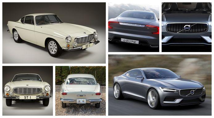 De Polestar 1 werd in 2013 al eens eerder geboren als de Volvo Concept Coupé, een modern eerbetoon aan de klassieke P1800