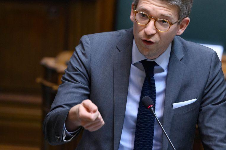 Minister van Economie en Werk Pierre-Yves Dermagne (PS) Beeld Photo News