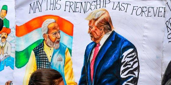 Met China als gezamenlijke rivaal hebben de VS en India geen tijd meer voor gekibbel