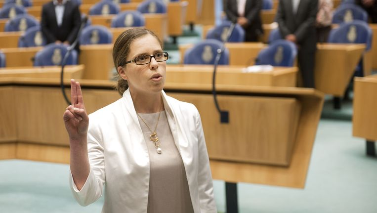 Carola Schouten (ChristenUnie) Beeld ANP