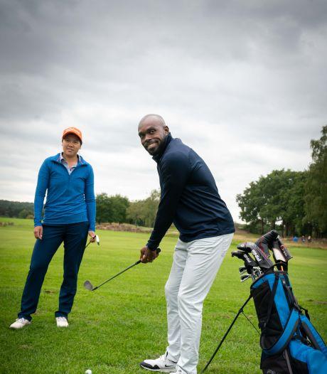 Ook golfen gaat Churandy goed af: 'Ik denk altijd: Alles komt goed'