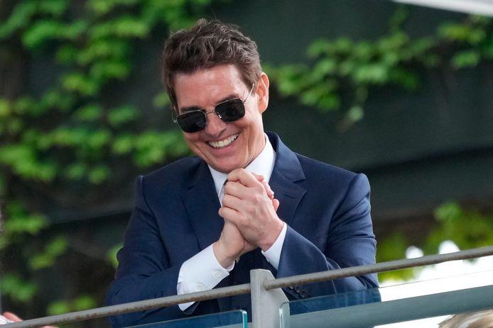 Tom Cruise à Wimbledon.