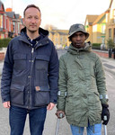 Themba Cabeka klom in 2015 samen met een vriend in de wielkast van een vlucht van British Airways van Johannesburg naar Londen.
