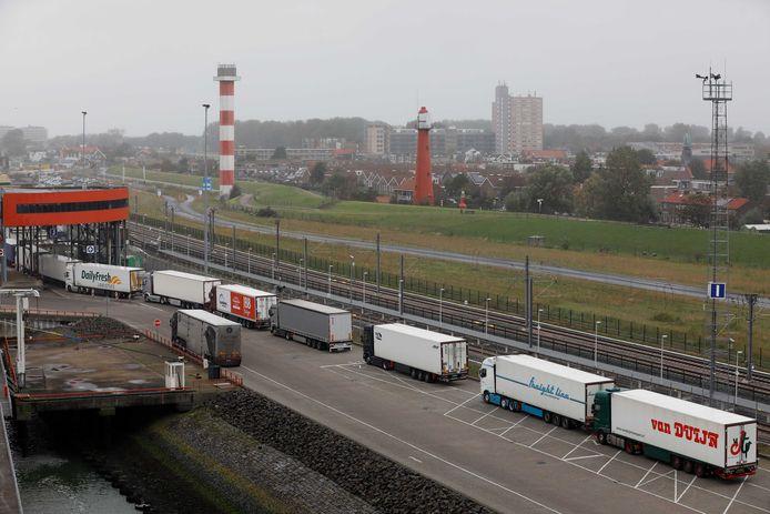 Vrachtvervoer per boot is nu de enige optie. Foto ter illustratie.