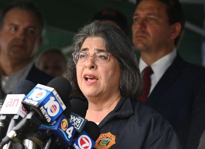 Daniella Levine Cava, la maire du comté de Miami-Dade.