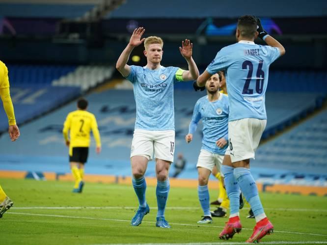 'KDB to the rescue': De Bruyne nam Man City bij de hand tegen Dortmund, zoals Guardiola dat had voorspeld