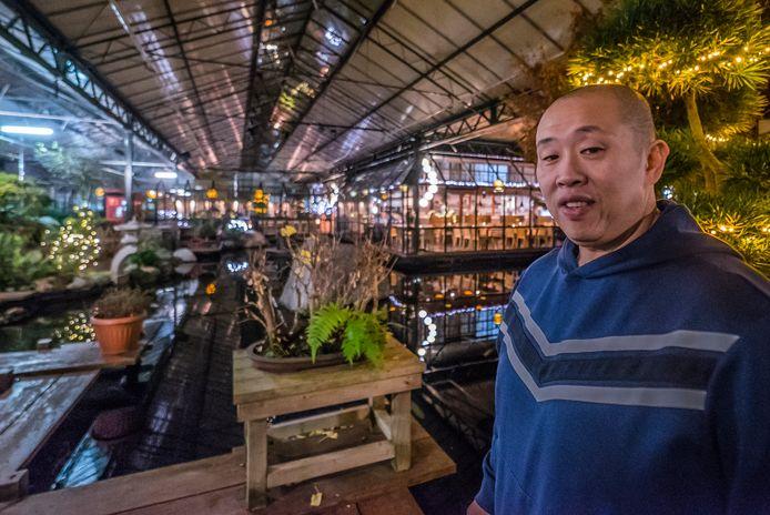 Pong Chen is de eigenaar van De Watertuin, de nieuwe aanwinst van het Stadshart.