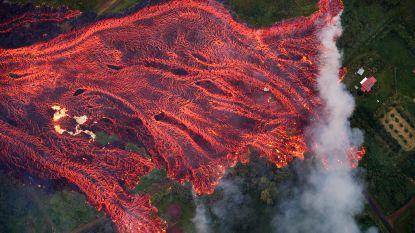 VIDEO: lava vulkaan Kilauea trekt spoor van vernieling op Hawaii