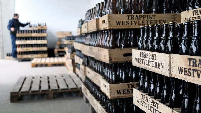 Archiefbeeld uit de brouwerij van Westvleteren. Beeld REUTERS