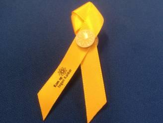 Gele golf voor Kom op tegen Kanker