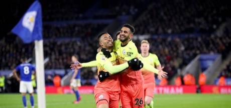 Manchester City zet directe concurrent Leicester City op zeven punten