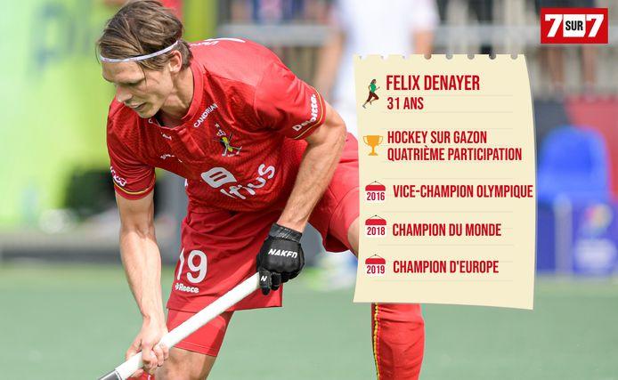 Felix Denayer, capitaine des Red Lions.