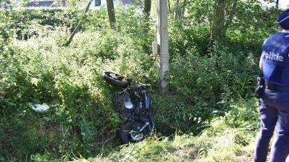 Motorrijder zwaar gewond bij ongeval