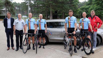 EK wielrennen voor politie in zone Neteland